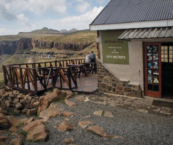 Hoogste pub Sanipass Tour Lesotho